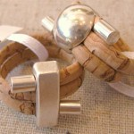 Cork & Metal Rings (Medium)