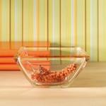 Corner Bowl Orange (Medium)