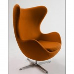 Egg Chair Brown (Medium)
