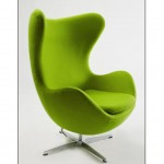 Egg Chair Green (Medium)