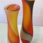 Fluid Vase Pair (Medium)