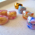 Murano Glass Rings (Medium)