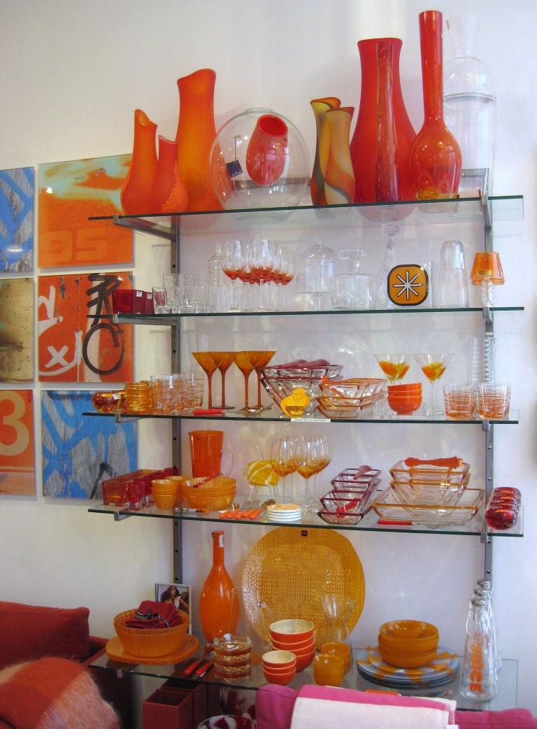 orange u0026 red decor medium - Orange Decor