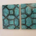 """Persian Tile Motif - 10""""x14"""""""