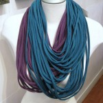 Scarf-Lace Purple & Teal (Medium)