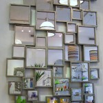 Square Geometric Mirror