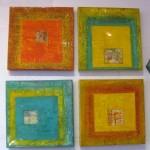 "Square Glow Grouping - 14""x14"""