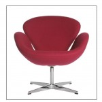 Swan Chair red (Medium)