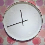 Mr. White Wall Clock (Medium)