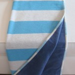 Sylt Throw_Stripes_Blue (Medium)