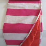Sylt Throw_Stripes_Pink (Medium)
