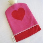 Thermal Bottle Cozy_Heart (Medium)