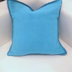Turquoise Sylt Cushion_16x16 (Medium)