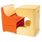 Click Desk Orange (Medium)